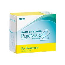 Purevision 2 HD For Presbyopia 6 lenses
